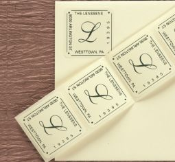 address labels and stampers