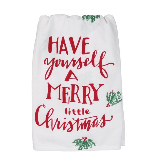 Merry Little Christmas.Have Yourself A Merry Little Christmas Kitchen Towel