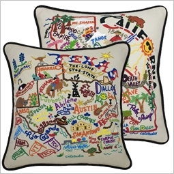 embroidery love california state texas pillows customizable frontpage pillow texasrosesmall seersucker rose with collections